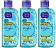 Clean & Clear Morning Energy Face Wash 300ml (100ml x 3)